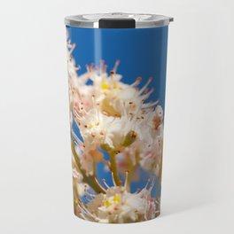 Macro of blooming Aesculus Travel Mug