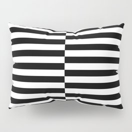 INTERLACING (BLACK-WHITE) Pillow Sham
