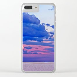 White Sands XVIII Clear iPhone Case