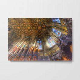 The Thistle Chapel St Giles Cathedral Edinburgh Metal Print