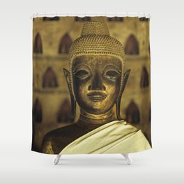 Buddha II Shower Curtain