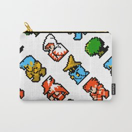 Rpg heroes   ff01w   vintage retro gaming Carry-All Pouch