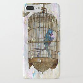 Birds in Love! iPhone Case