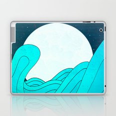 The Moon and the Sea Laptop & iPad Skin