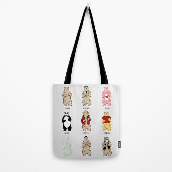 Know Your Bears Tote Bag