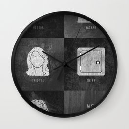 We Provide Leverage Wall Clock