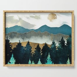 Forest Mist Serving Tray