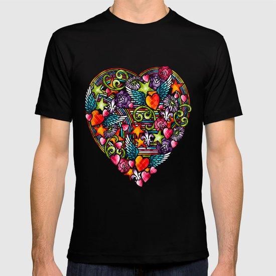 my heart has wings T-shirt