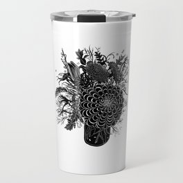 Field Arrangement Travel Mug
