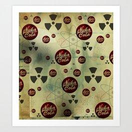 Nuka Cola Radiation Art Print
