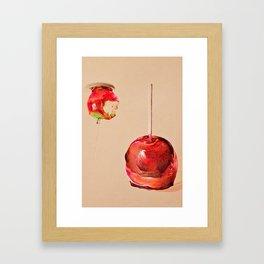 Fair Food Framed Art Print