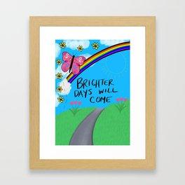 Bright Days Framed Art Print