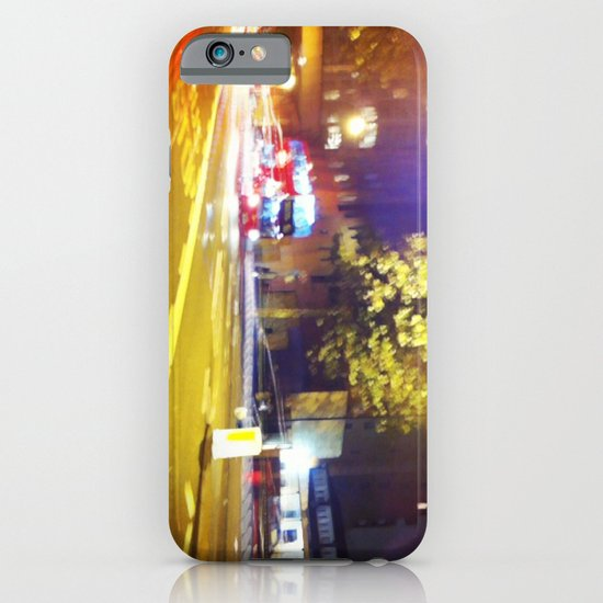 Roads at Night iPhone & iPod Case