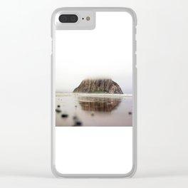 Morro Bay, California Clear iPhone Case