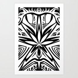 bud buggin white Art Print