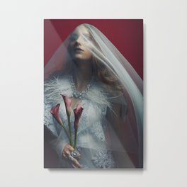 Queen Witch Metal Print