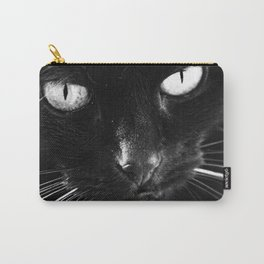 Chilly the Black Cat Carry-All Pouch