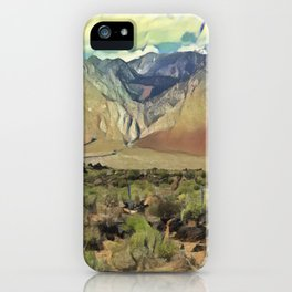 Sierra Nevada II iPhone Case