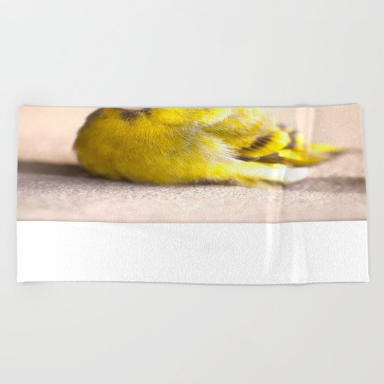 LITTLE BIRD  Beach Towel