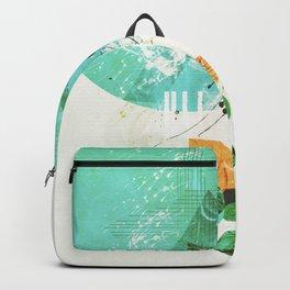Abstract geometric art Backpack