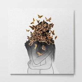 The butterflies of love. Metal Print