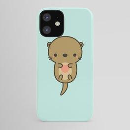 Cute otter iPhone Case