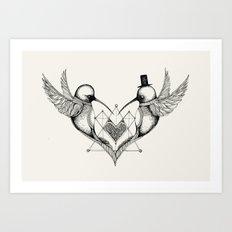 'Valentine's Day' Art Print