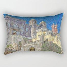 Palacio da Pena Rectangular Pillow