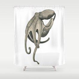 Inkwash Octopus Shower Curtain