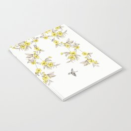 Birds and Cherry blossoms II Notebook