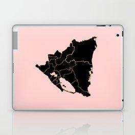 Nicaragua map Laptop & iPad Skin