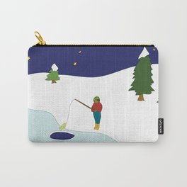 ice fishing Carry-All Pouch