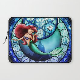 Ariel Stain Glass Laptop Sleeve