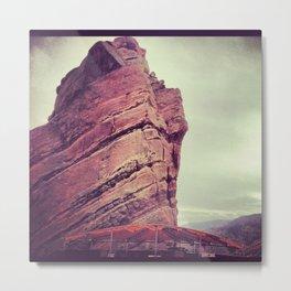 red rocks2 Metal Print