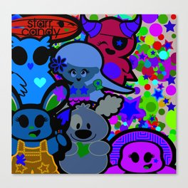 Starr Candy Canvas Print