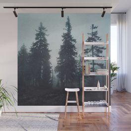Leave In Silence Wall Mural