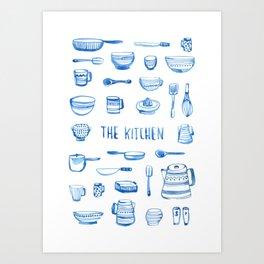 The Kitchen Art Print