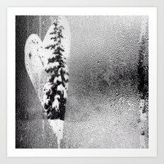 Love Snow Art Print