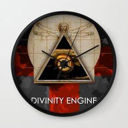 Divinity Engine Wall Clock