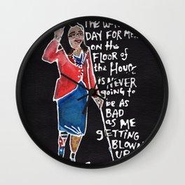 Senator Tammy Duckworth Wall Clock