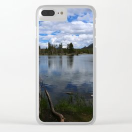 A Visit At Sprague Lake Clear iPhone Case