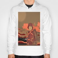 soldier Hoodies featuring Soldier ( drawing) by Ganech joe