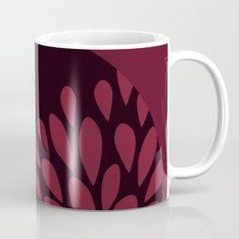 Afro Diva : Sophisticated Lady Deep Pink & Burgundy Coffee Mug