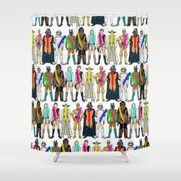 Naughty Lightsabers - Light Shower Curtain