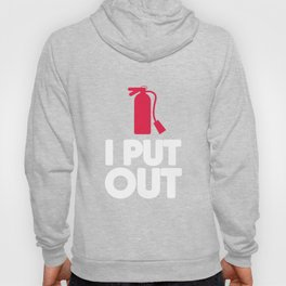Firefighter I Put Out Funny Design for Firemen & Women Hoody