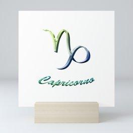 Capricorno Mini Art Print
