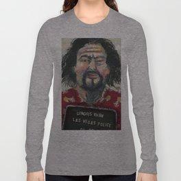 Genghis Khan's Vegas Arrest Long Sleeve T-shirt