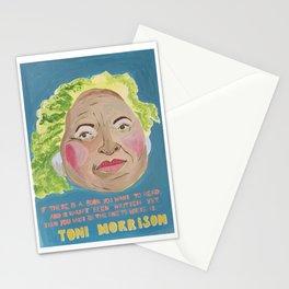 Toni Morrison - Badass Woman Portrait Stationery Cards