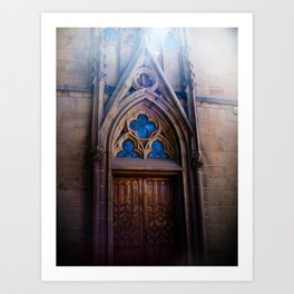 Loretto Chapel Art Print