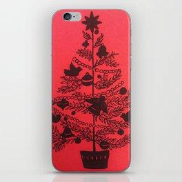 Holiday Tree iPhone Skin